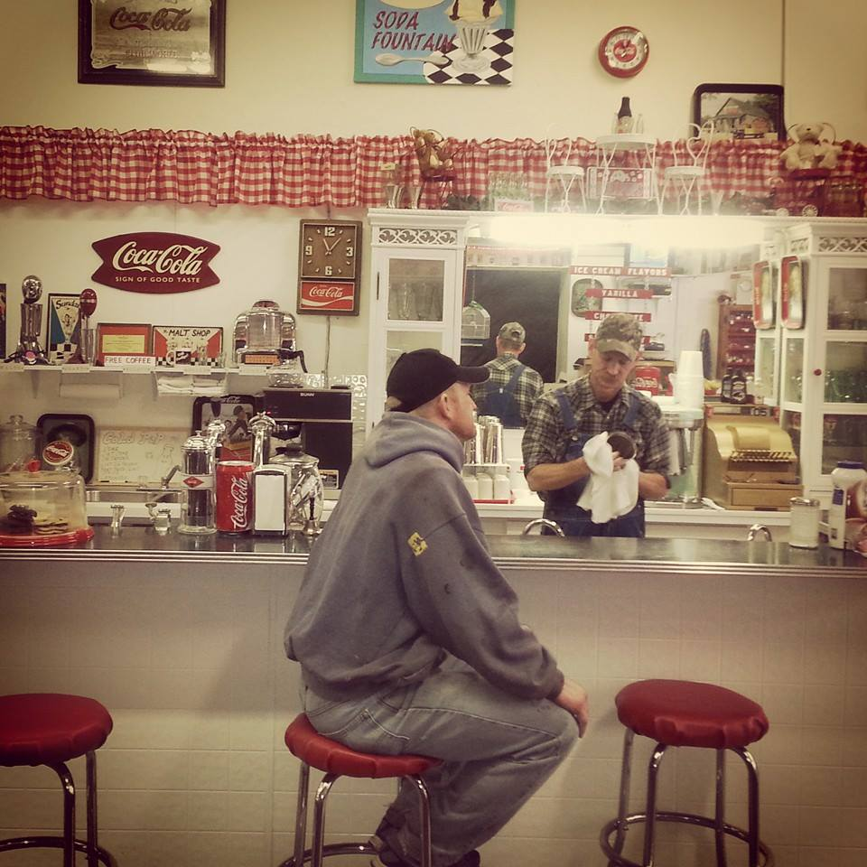 Old Fashion Soda Fountain